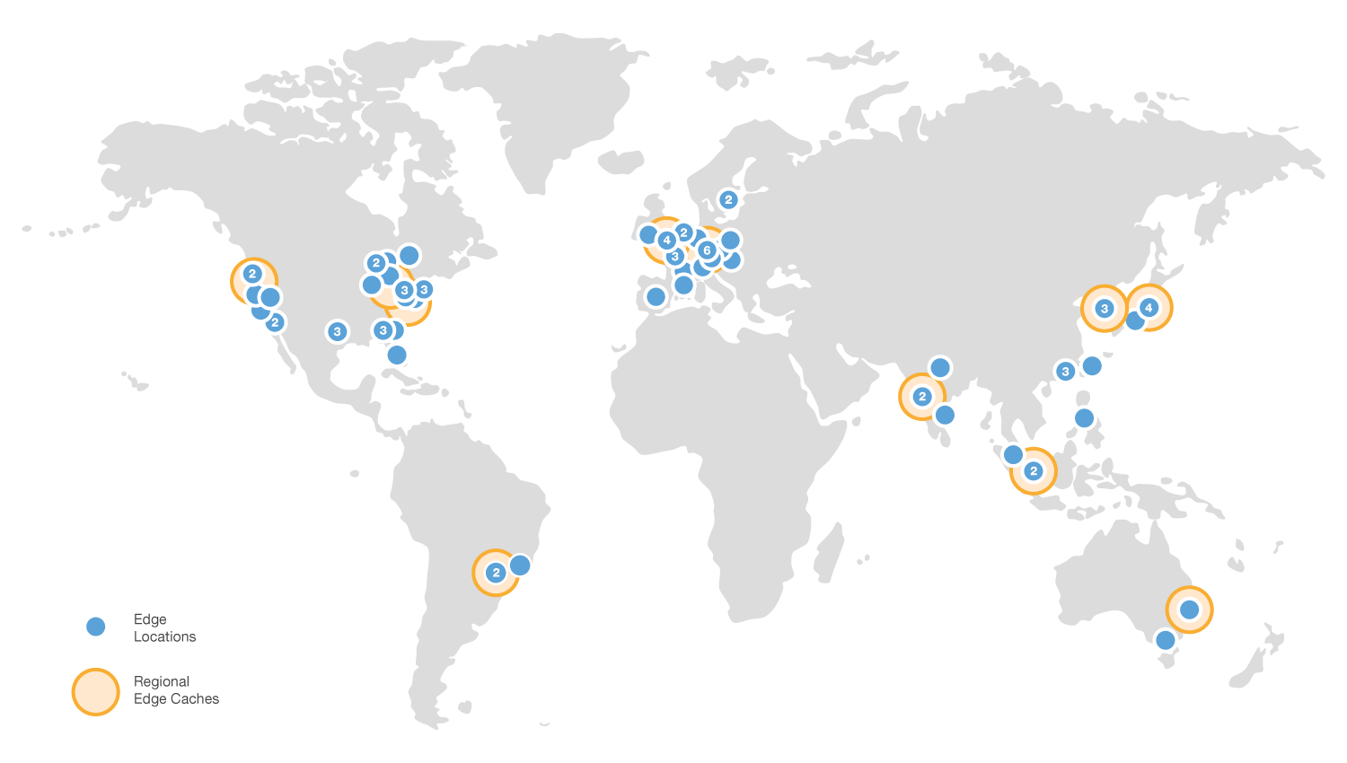 Amazon Cloudfront Network